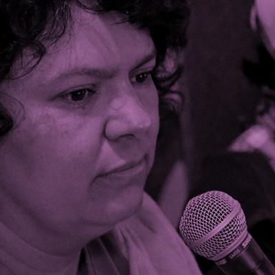 En la voz de Berta Cáceres