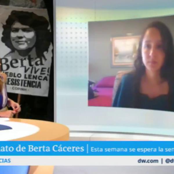 """Hija de Berta Cáceres: """"Honduras es un país de impunidad y de injusticias"""""""